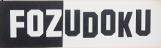 SUDOKU + FOZ = FOZUDOKU