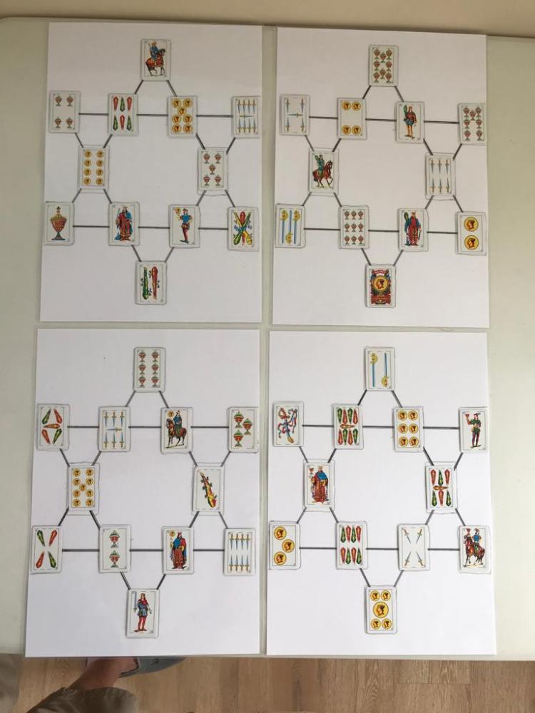 Solucion FOZUDOKU de 4 Estrellas Mágicas - 6 cartas
